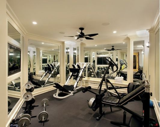 Home Gym   Home And Garden Design Ideau0027s