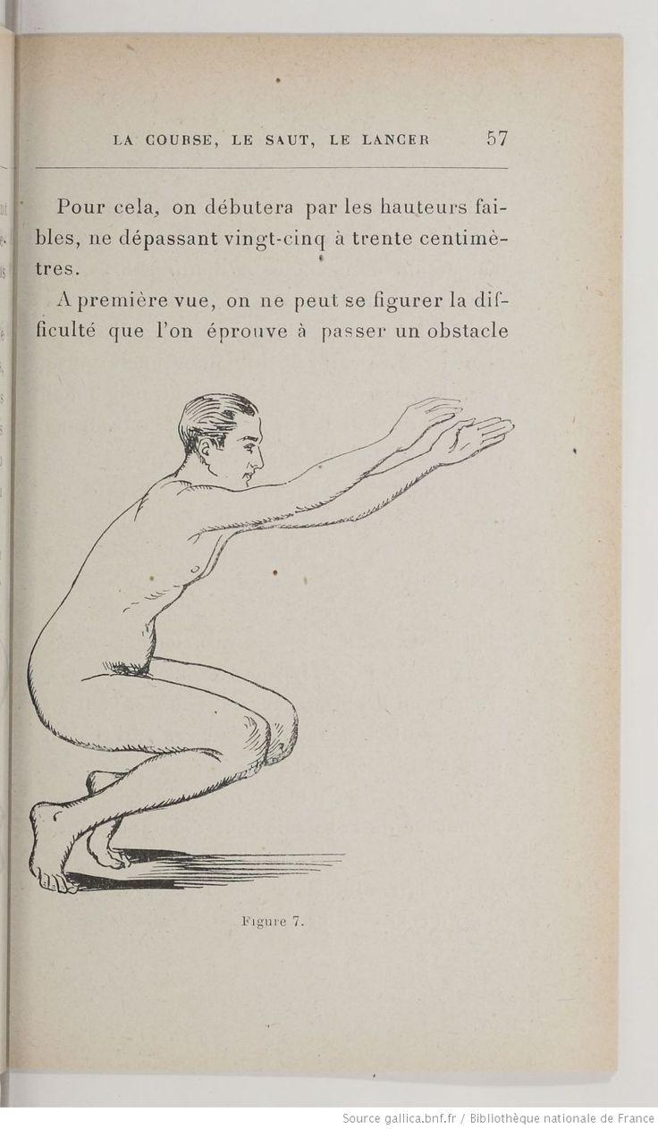 La Course. Le saut. Le lancer. L'entraînement rationnel. Course de vitesse. Course de fond. Le saut en hauteur. Le saut en longueur. Le lancer : du poids, du disque, du javelot. Par Salmson-Creak... | 1924