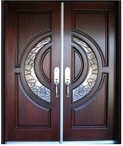 M s de 1000 ideas sobre puertas de entrada dobles en for Puertas dobles de madera