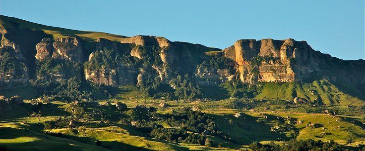 Scenic Maloti Drakensberg Mountain Range oliviershoek pas