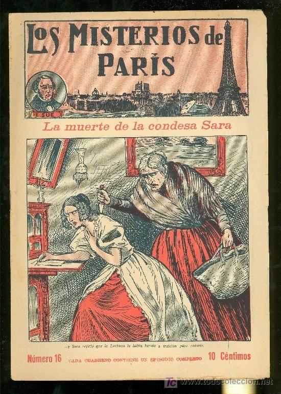 LOS MISTERIOS DE PARIS. Nº 16. LA MUERTE DE LA CONDESA SARA. EDITORIAL EL GATO NEGRO. - Foto 1