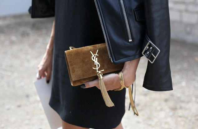 ysl clutch celebrities - Google Search | Saint Laurent Tassel ...