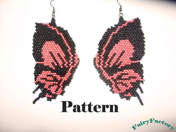 Hey, I found this really awesome Etsy listing at https://www.etsy.com/listing/79197376/pattern-butterfly-brick-stitch-earrings
