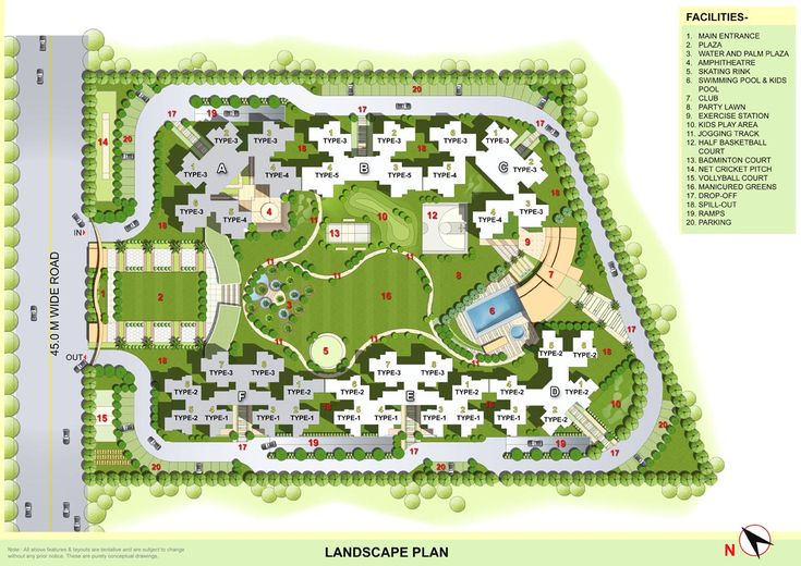Residential Complex plan - Google 검색