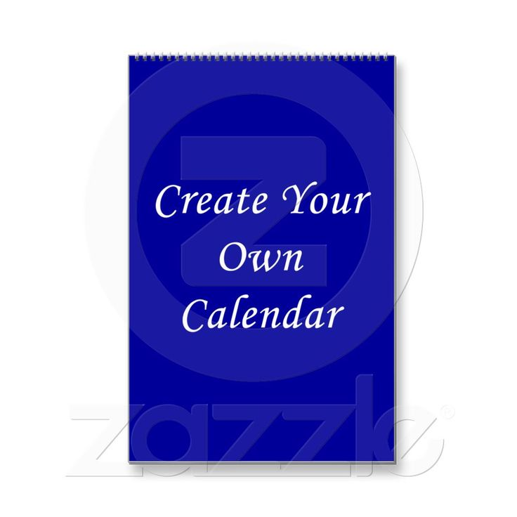 Create Your Own 2014 Calendars. Easy template to add your own photos