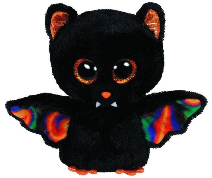 Ty Beanie Boos Scarem The Halloween Bat Boo Plush Teddy ...