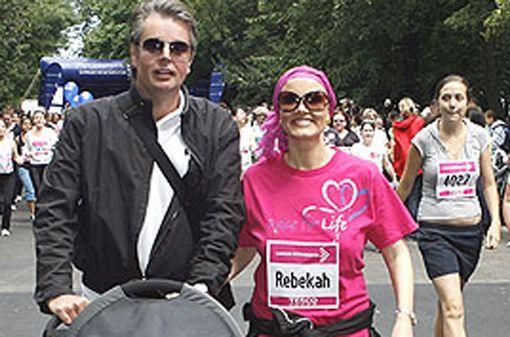 Rebekah and husband Ashley Pitman
