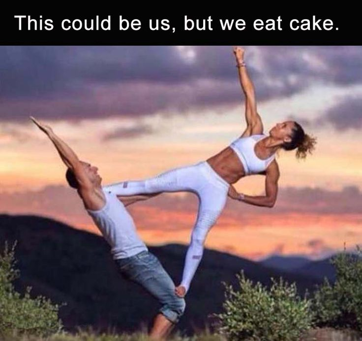 ... but we eat cake!