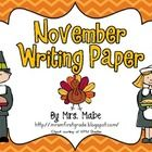 Set includes 10 different pages to choose from for writing activities during the month of November and Thanksgiving.  Sheets can be used for a vari...