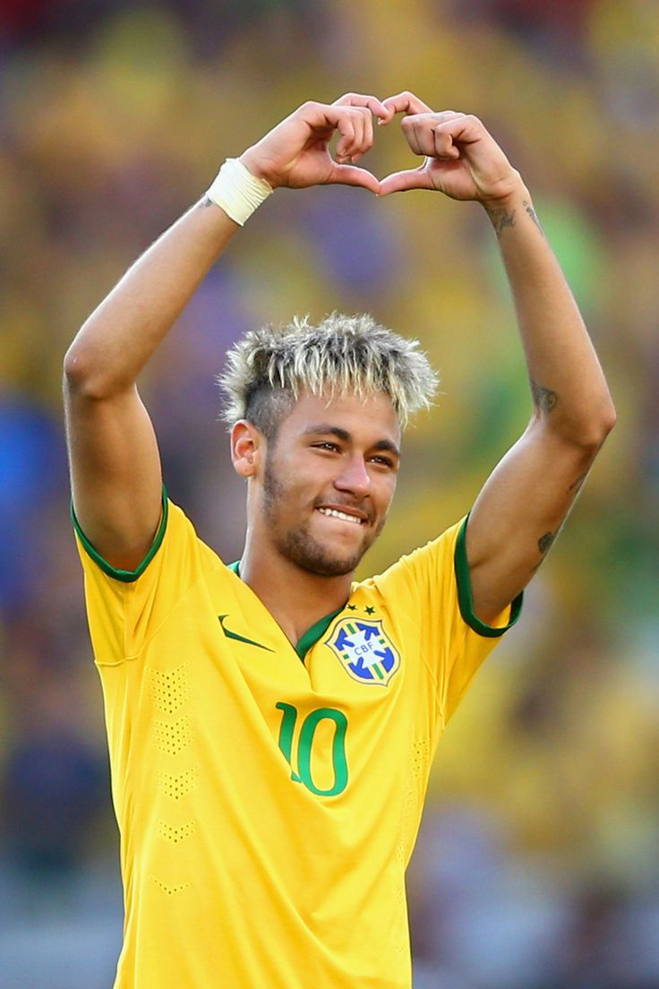 Neymar da Silva Santos Júnior, Soccer, Brazil