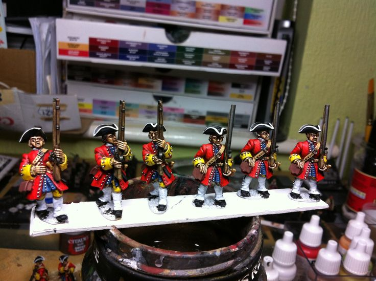 Finishing touches added to the first unit of British ready for their first layer of varnish tomorrow evening