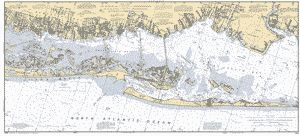 SOUTH OYSTER BAY TO GREAT SOUTH BAY LONG ISLAND NY nautical chart - ΝΟΑΑ Charts - maps