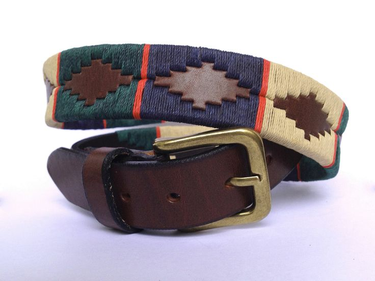 Gaucho Style with this Guarda Pampa Polo Belt. Available in many sizes and colors on Spirit of Polo website