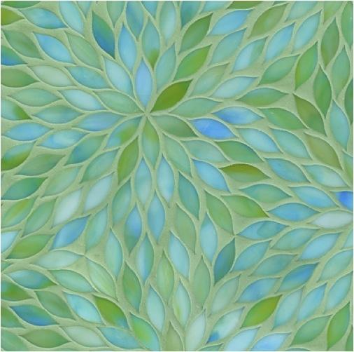 above mirrors Aqua + apple green - beautiful combination!! Maybe tiles for a backsplash or a bathroom?