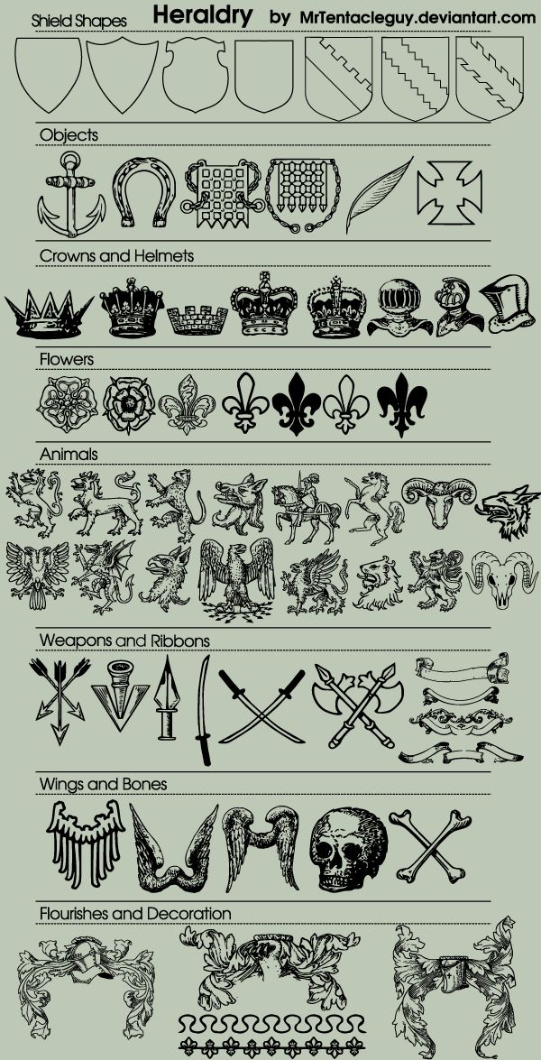 70 Heraldic Vector Free Download