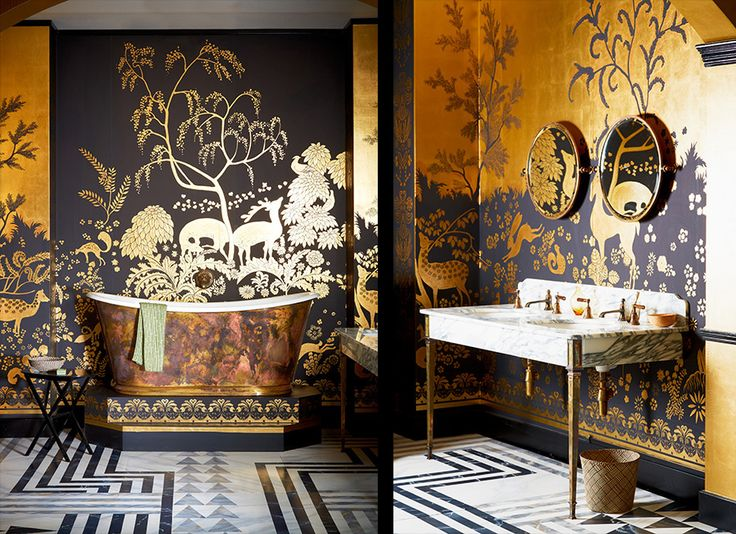 1000 id es sur le th me de gournay wallpaper sur pinterest. Black Bedroom Furniture Sets. Home Design Ideas