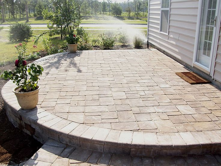 best 20 paver patio designs ideas on pinterest