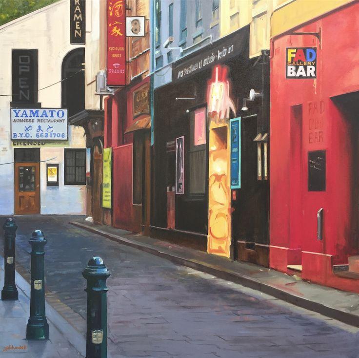 'Corrs Lane' by Joe Blundell