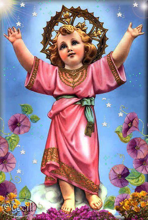 VIRGEN MARÍA, RUEGA POR NOSOTROS : UN MINUTO CON EL NIÑO JESÚS - ORACIÓN