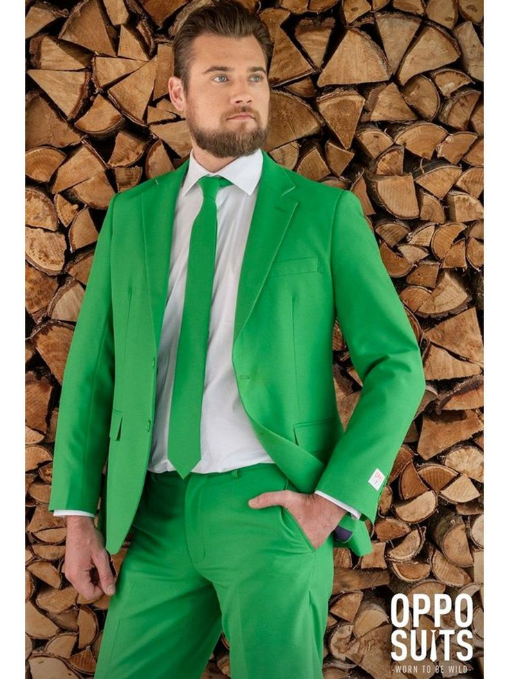 Mens OppoSuits Evergreen Suit