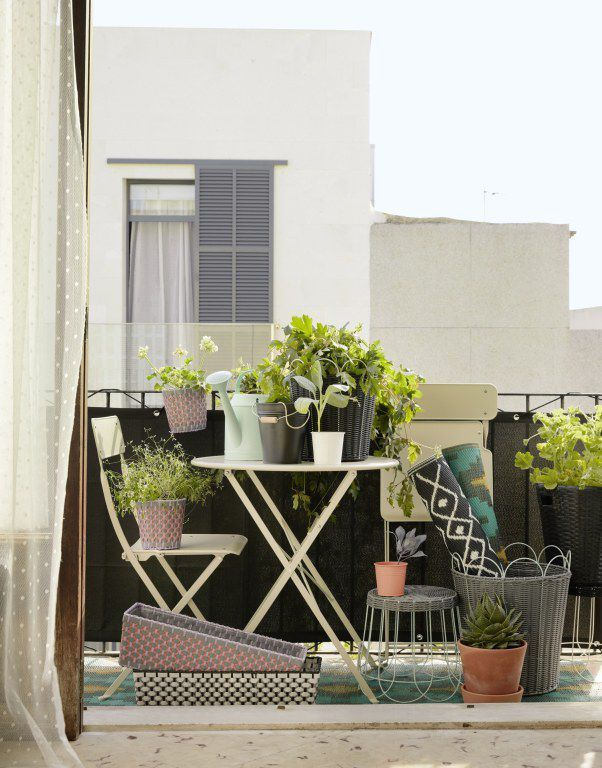 Mały balkon, fot. IKEA
