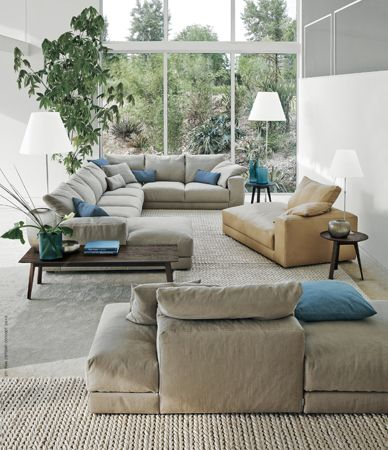Casa Idea – Arredamento & Design d'Interni » Casaidea Arredamento Swan divano Hills – Casa Idea, Arredamento e Design d'Interni