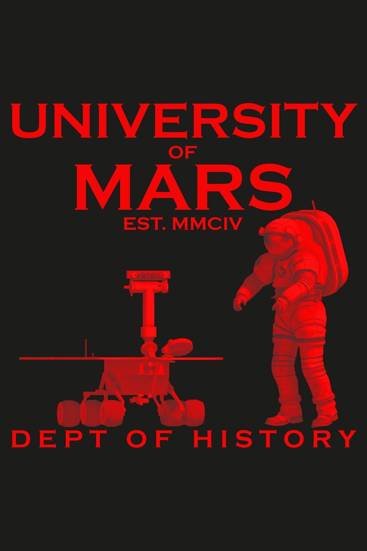 UNIVERSITY OF MARS  | DEPT. OF HISTORY - Founded in 2104, the first off-Earth academy is now one of the leading institutions in the Solar System dedicated to education and research. Located in beautiful Ares Vallis, this top rated university is promoting excellence in learning and teaching at the highest interplanetary levels. UoM's Department of History is the prime knowledge base on the subject of the planet's observation, exploration, colonization and terraforming. Explorare Humanum Est!