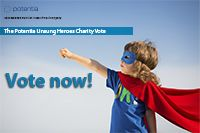 It's voting time! We've selected our top eight charities, so now it's up to you to decide who gets the Unsung Heroes $10,000 Charity grant. Please take time to watch the amazing videos and the written submission, then place your vote. https://www.facebook.com/PotentiaRecruitment/app_303561899745219