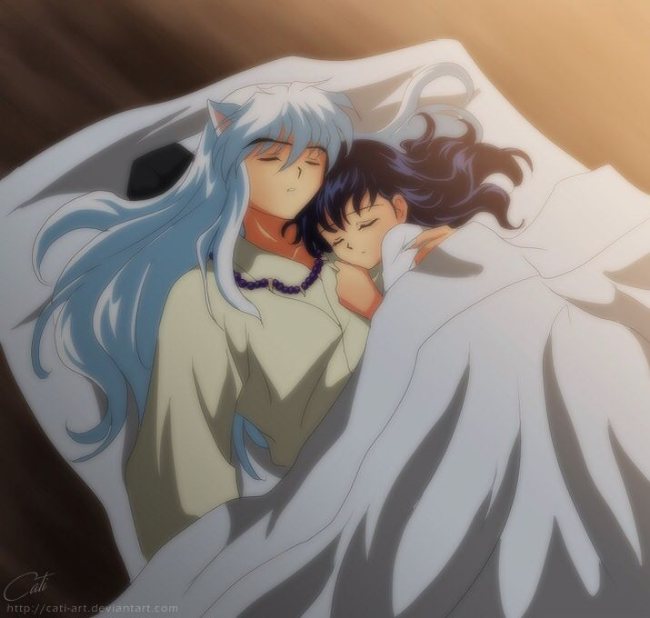 212 Best Images About Inuyasha Inuyasha X Kagome On: Inuyasha And Kagome Sleeping Together