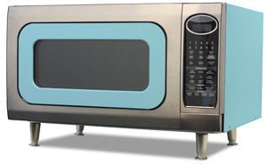 I do not have a microwave, nor do I want one - but I would happily buy & use this lovely retro model!!!