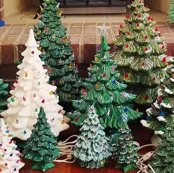 Those Ceramic Christmas Trees You Re About To Box Up Could Be Worth A Ton Of Money Ceramic Christmas Trees Vintage Ceramic Christmas Tree Christmas Decorations