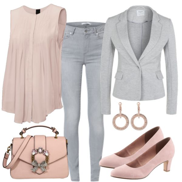 Business Outfits: Farbakzente bei FrauenOutfits.de #businessoutfit #business #b…