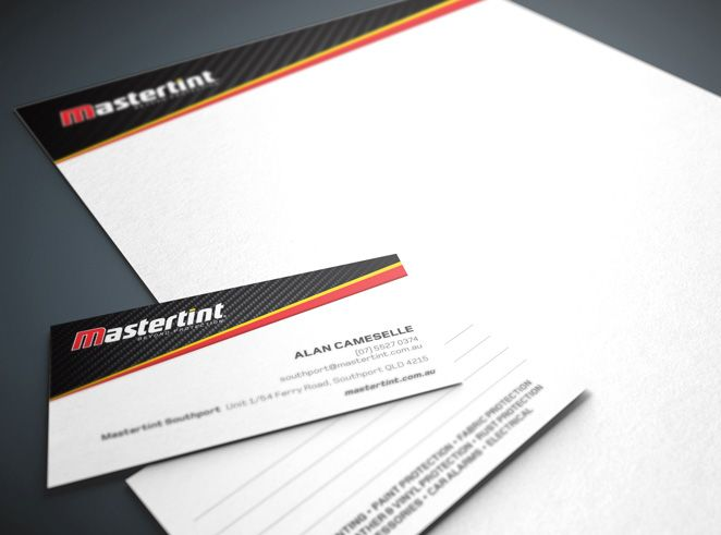 Mastertint Stationery by Csquared Design