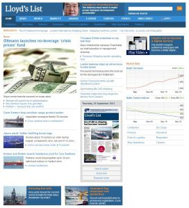Lloyd's List: el diario de 279 años que migra a la web #Periodismo   De Papel a Digital