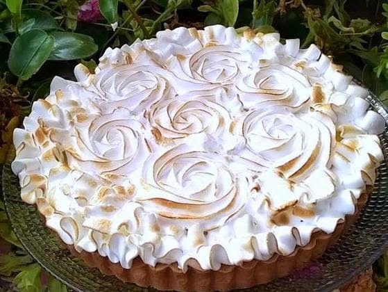 Il pennello di cioccolato: Lemon meringue pie di E. Knam