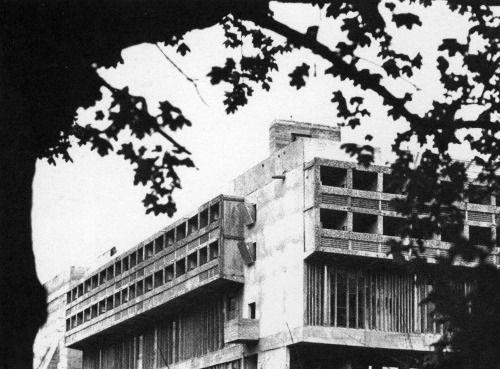 Le Corbusier - Monastery of Sainte Marie de La Tourette, Éveux, France, 1960