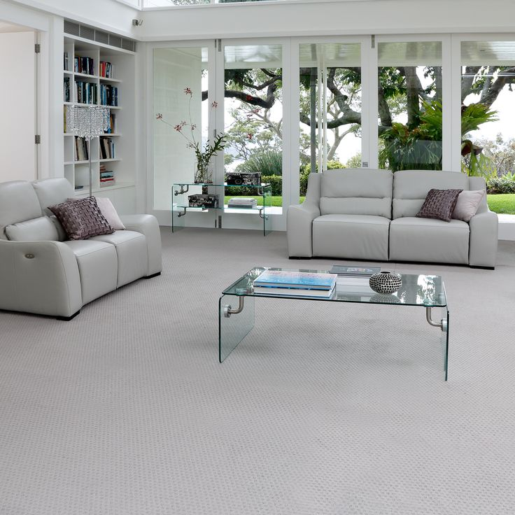 Look what's new! SmartStrand Silk carpet now comes in a stylish geo-pattern.