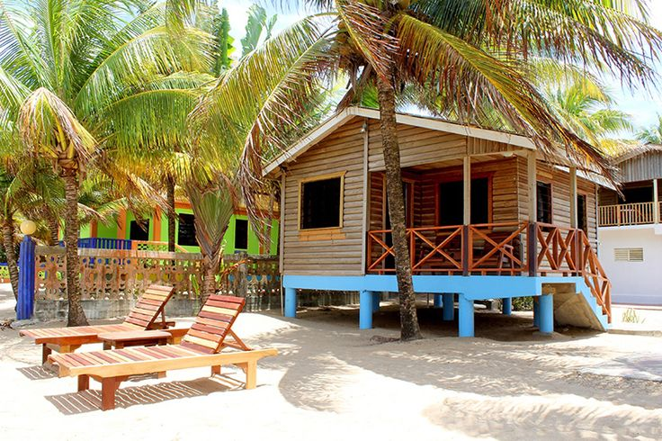 Beachfront cabins and apartments in Hopkins, Belize – Coconut Row beachfront cabins in Hopkins, Beli
