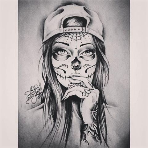 Image result for gangster girl drawing