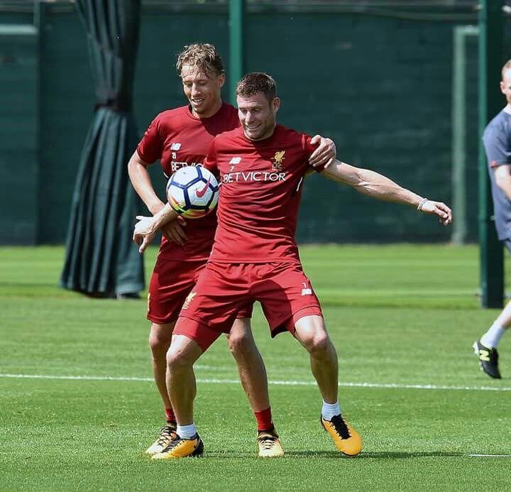 Lucas og James Milner