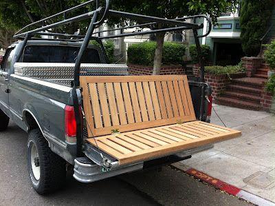 AM CUSTOM: Truck Tailgate Bench