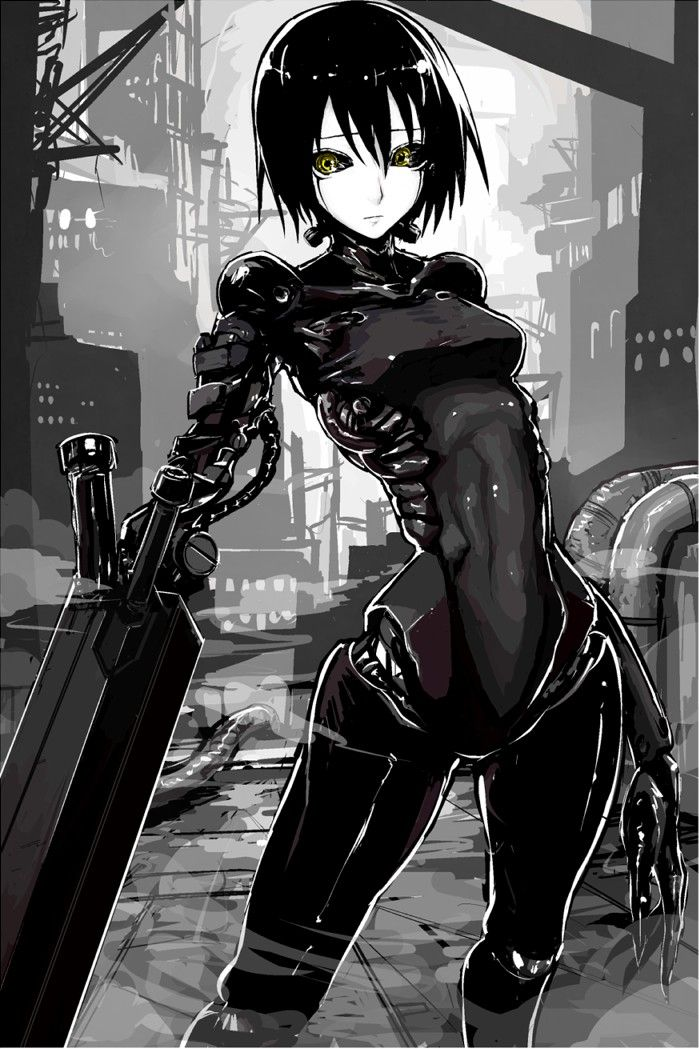 Pin By Quentin On Cyberpunk Girl Cyberpunk Anime Cyberpunk Art