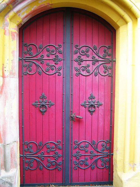 Pink doors. Germany