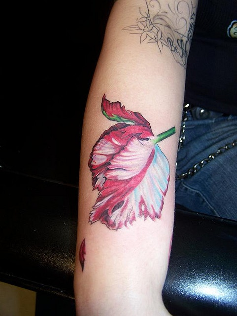 40 best images about flower tattoo on lower arm on for Flower tattoos on lower arm