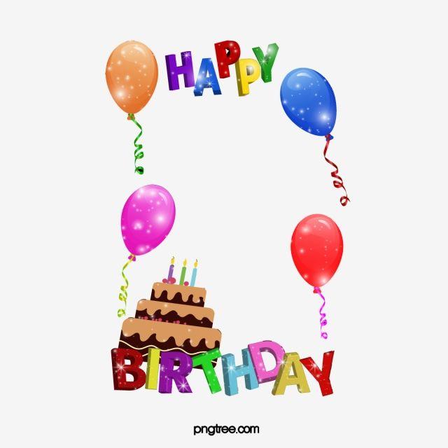 Feliz Cumpleanos Marco Material Del Marco Contento Cumpleanos Png Y Vector Para Descargar Gratis Pngtree Happy Birthday Frame Happy Birthday Font Birthday Frames