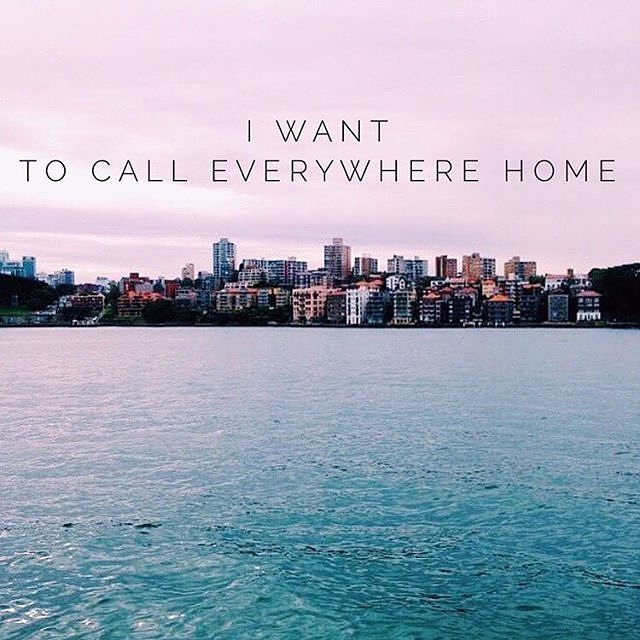 I'm fortunate enough to have called Australia, England and France home and soon…