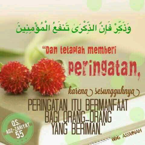 BBG As-Sunnah : Peringatan