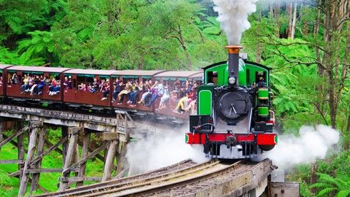 Tour to the prosperous heart of amazing wine country to the picturesque Yarra Valley and en route, ride aboard Australia's oldest steam train, the Puffing Billy.