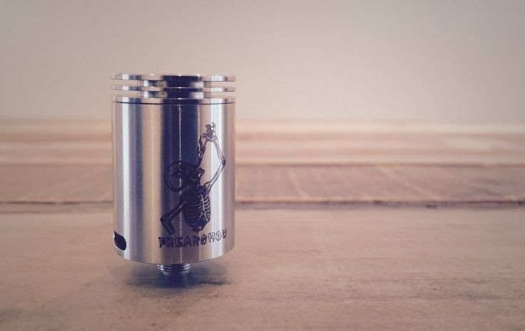 We are always on the look out for innovative and different methods of airflow hitting the coil(the more direct and efficient the air to the coil, the better the flavour) in RDA designs. #vape #rda #vapelyfe