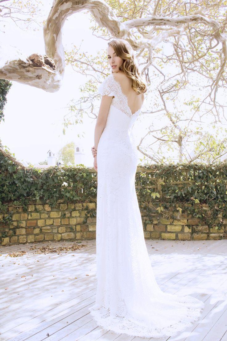 Caroline - lace, low-back
